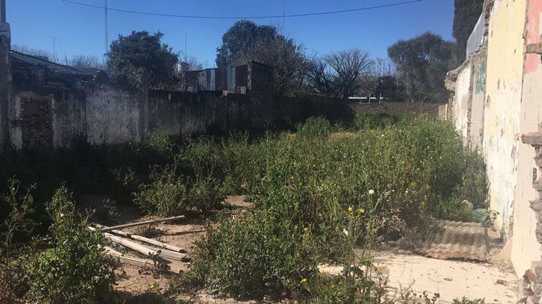 El baldío de Barracas generó problemas en la seguridad de los vecinos.