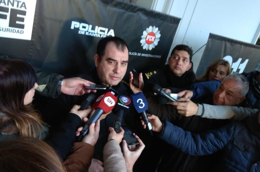 Bengoechea, Jefe de la Unidad Regional II, relatando la persecución.