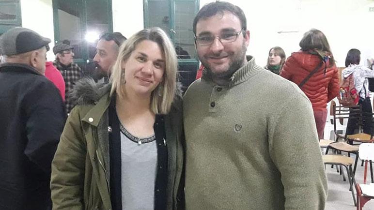 Manuel Bonis y Pili Ciribeni, dos que pueden asomar como candidatos.