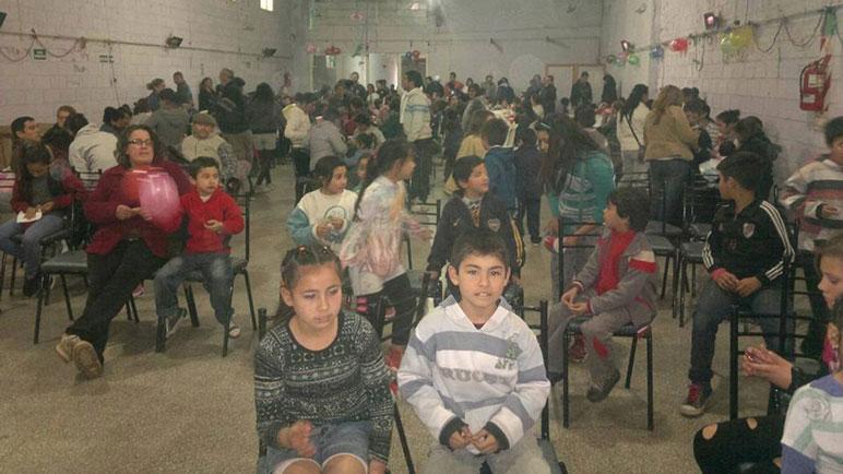 Los niños se reunirán en la plaza y en el salón de la Vecinal Alberdi.