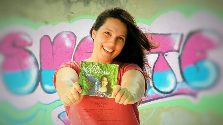 Aldana Moriconi presenta su último disco, Suerte.