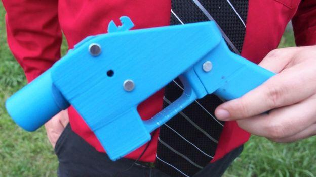 """La primera arma fabricada por una impresora 3D fue bautizada como """"El Libertador"""", y vio la luz en 2013."""