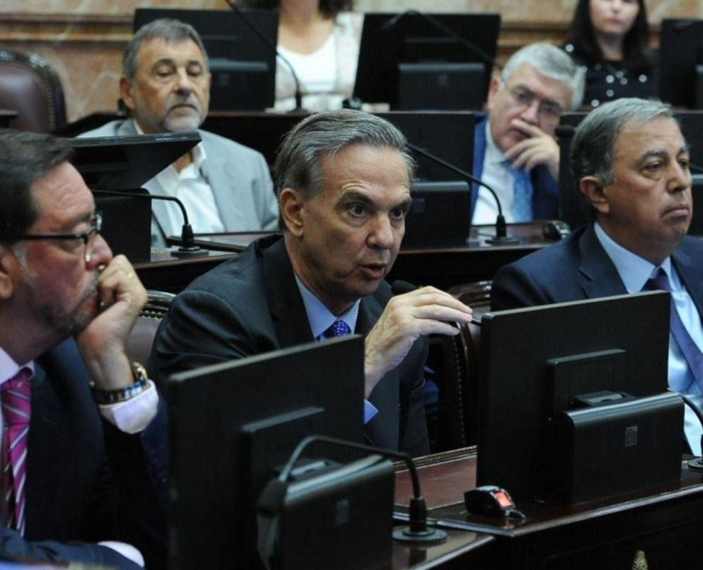 Pichetto retrucó a Carmona, y enseguida le replicaron.