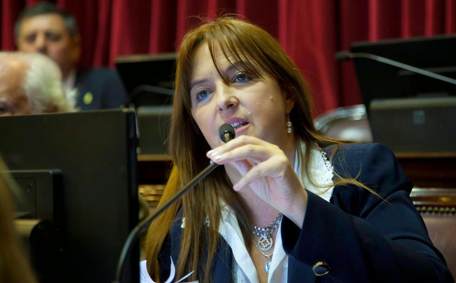 La senadora rionegrina que descubrió la alteración de pauta que hizo el gobierno.
