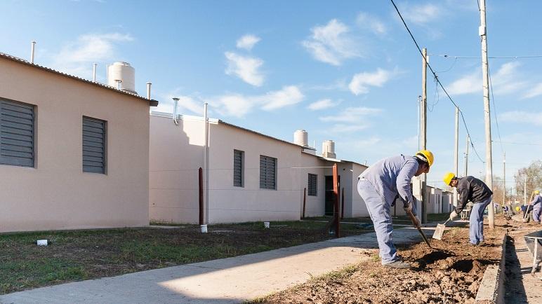 La construcción de viviendas desde el Estado es el motor clave de la actividad.