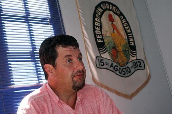 Ariel Toselli, de Federación Agraria.
