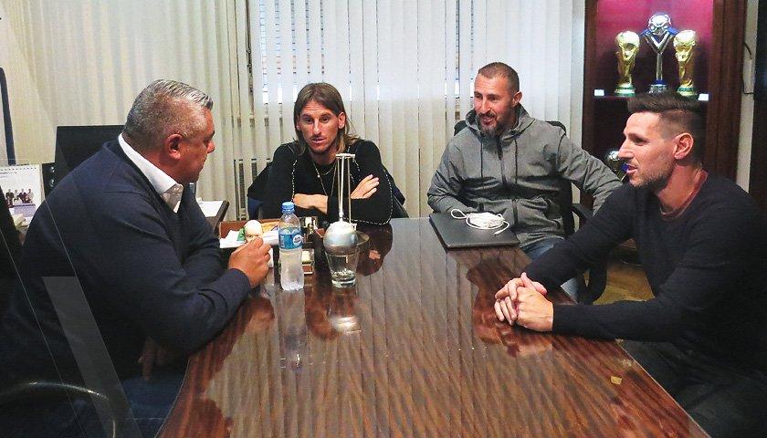 Se desarma el cuerpo técnico de Sampaoli (Foto de @Argentina)