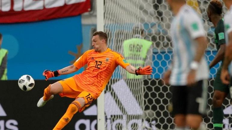 Armani tuvo un gran debut mundialista ante Nigeria.