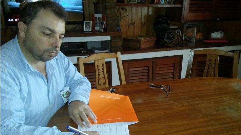 Gabriel Bustamante envió una nota dirigida al directorio del Samco.