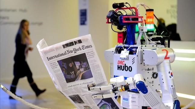 Los robots tendrán capacidad de debate (El Periódico)