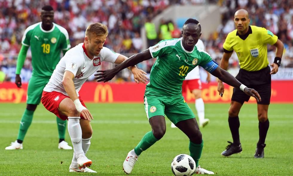 Con un resultado de 2 a 0 Senegal se impuso ante Polonia.