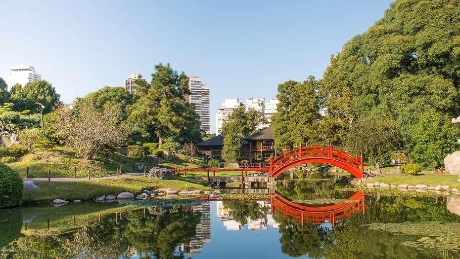 El Jardín Japonés, uno de los destinos a visitar dentro del barrio de Palermo.