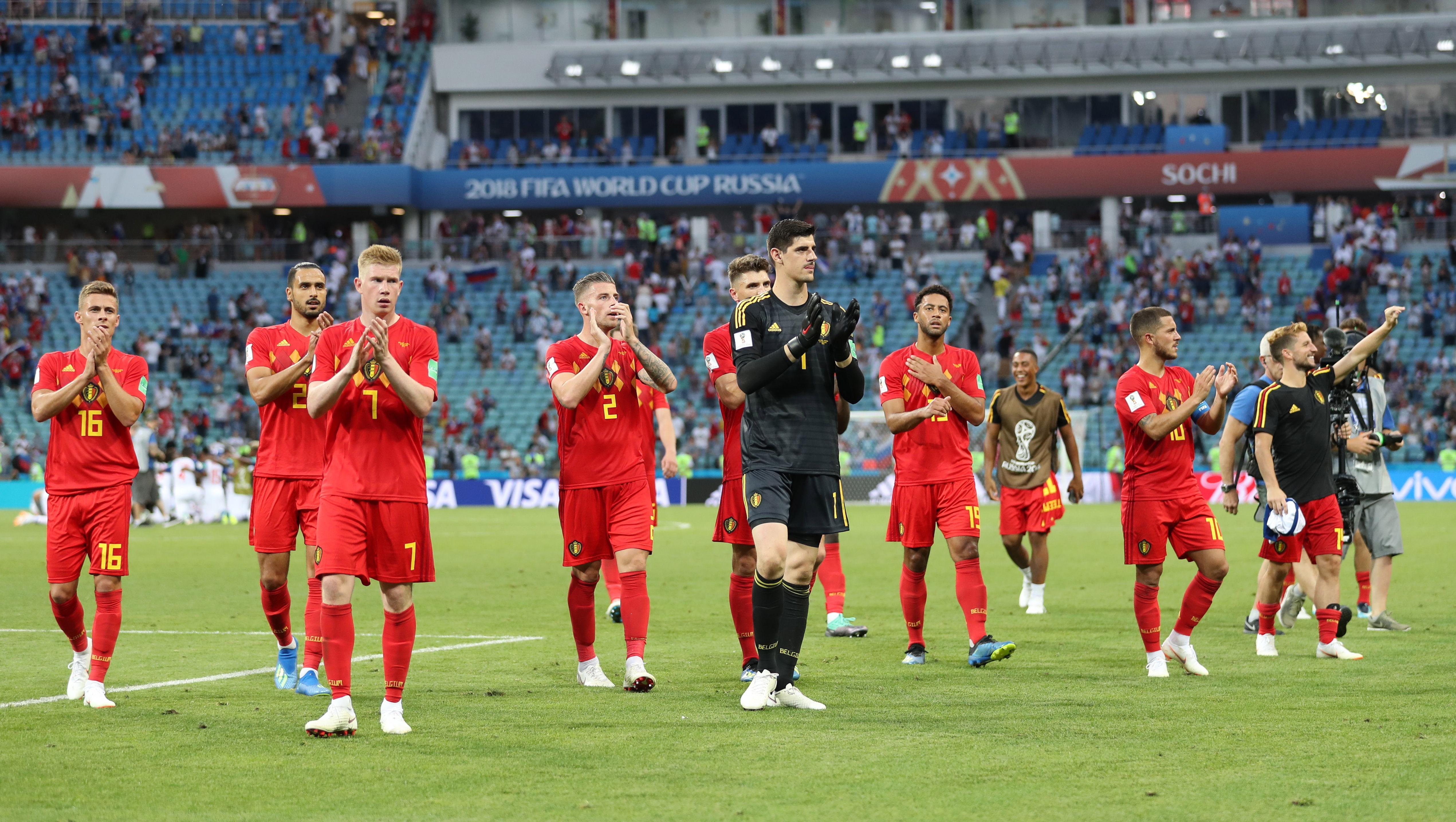 Bélgica, una de las selecciones que promete pisar fuerte en Rusia.