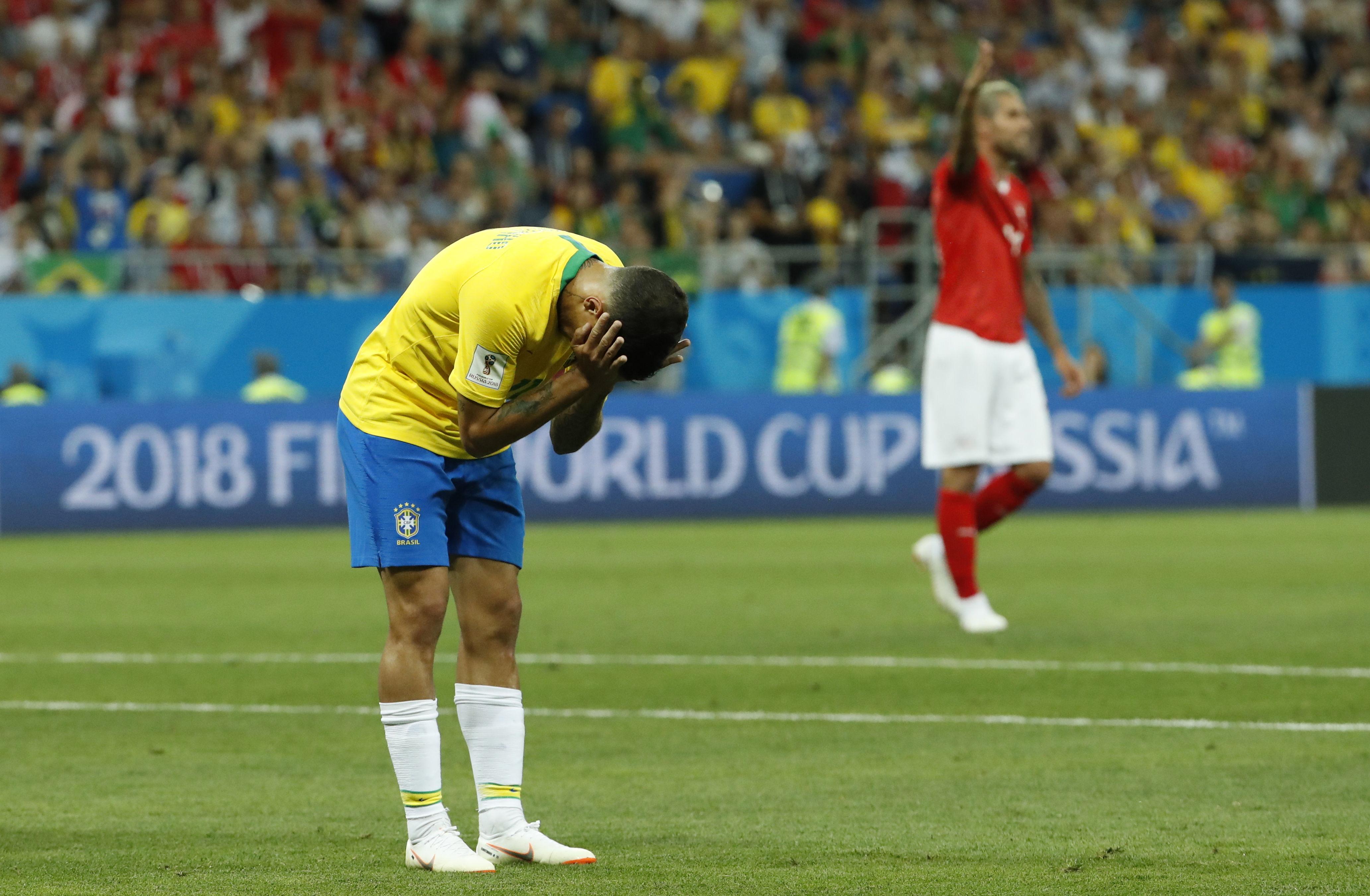 Brasil no jugó bien y apenas empató con Suiza (EFE)