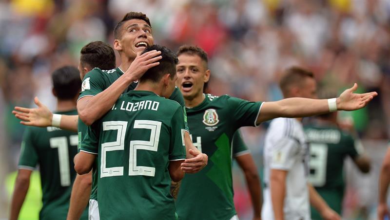 Lozano marcó el único gol del encuentro (Foto: EFE).