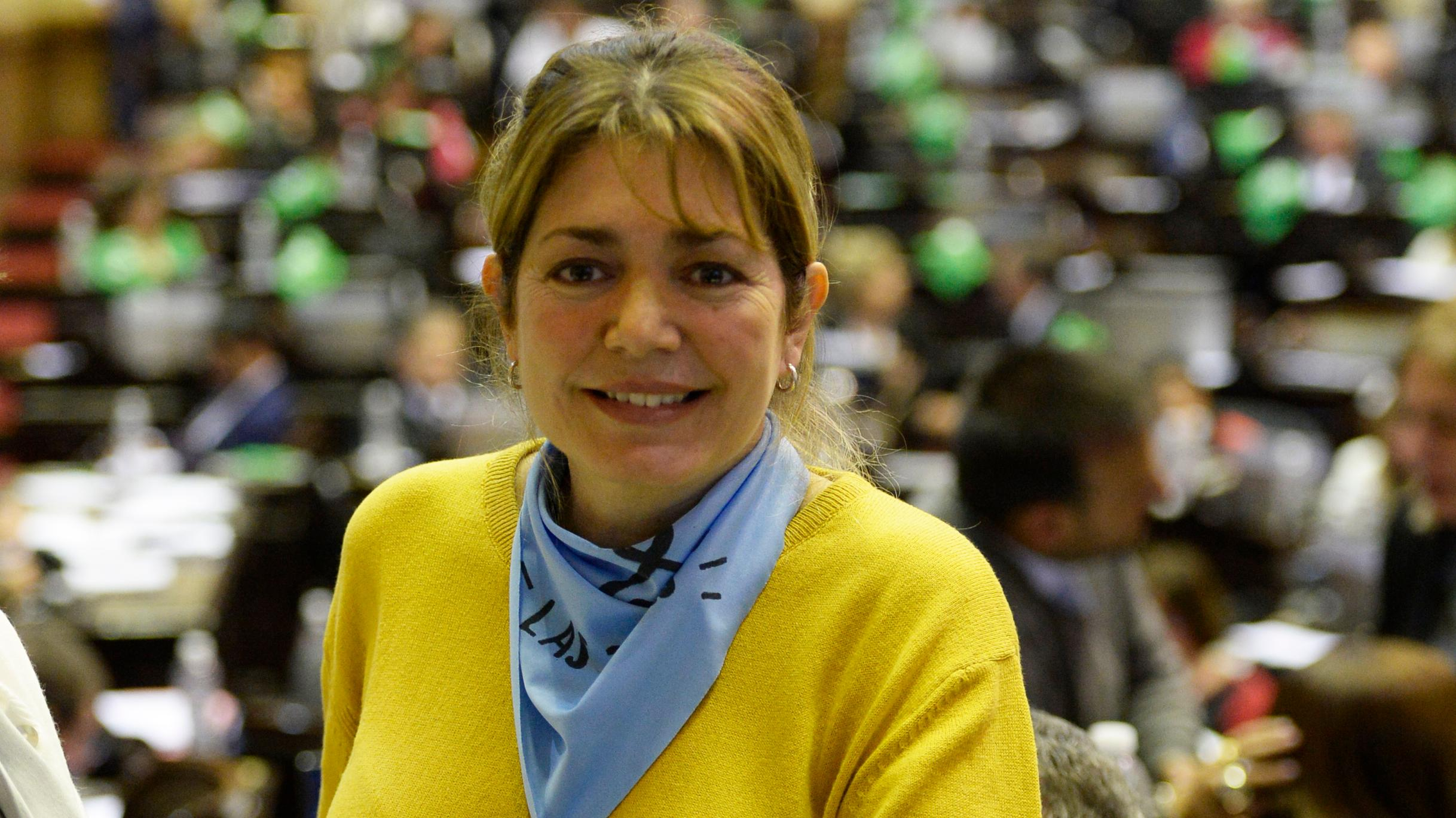 Estela Mercedes Regidor Belledone y un discurso particular.