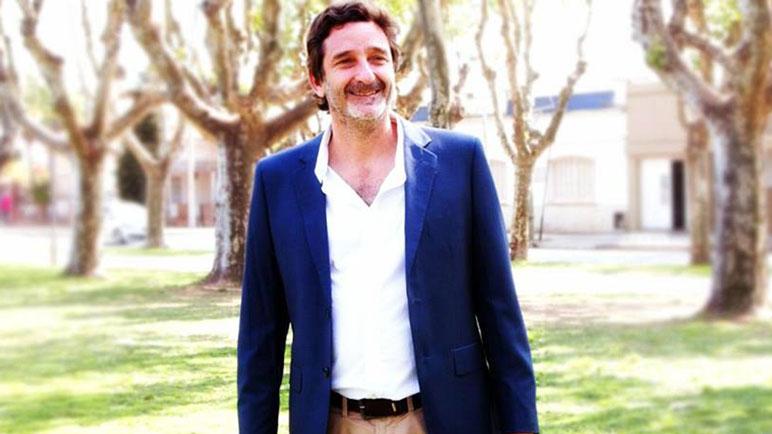 Andrés Golosetti salió con los tapones de punta.