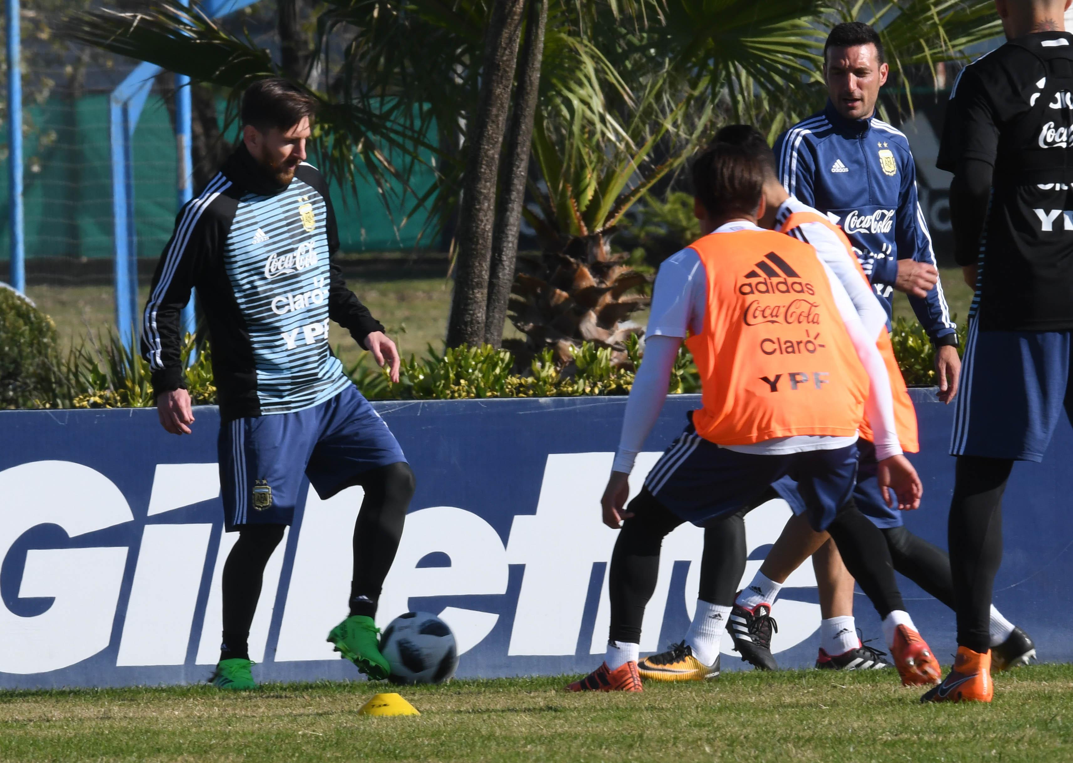 La Pulga se prepara para jugar su cuarta Copa del Mundo. (Foto: Télam)