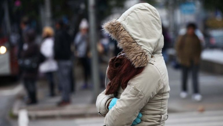 Frío y más frío