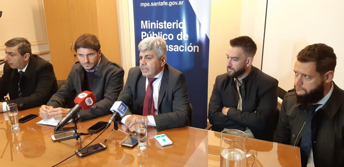 Baclini, Pullaro y otros funcionarios presentaron la flamante área