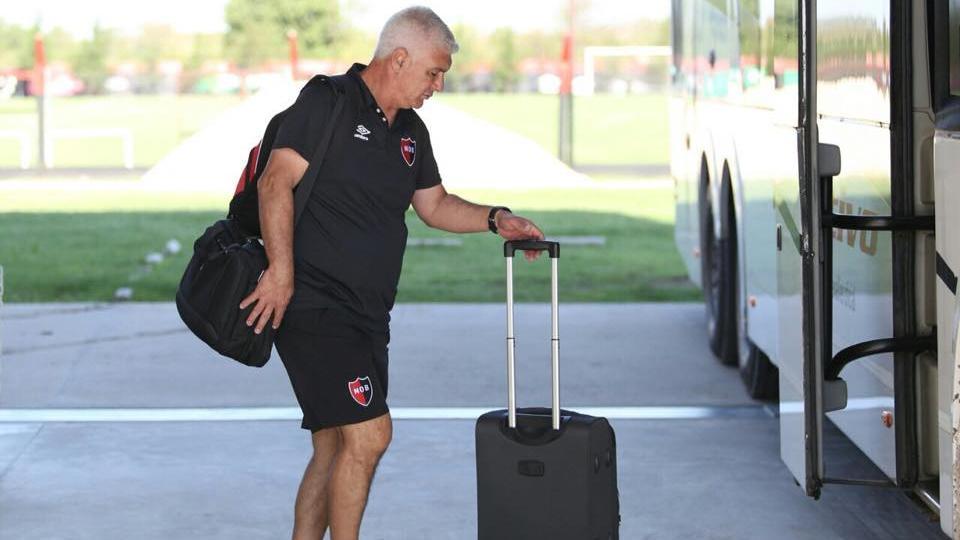 El entrenador buscará pasar a la siguiente ronda de la Copa Argentina. (Foto: NOB)