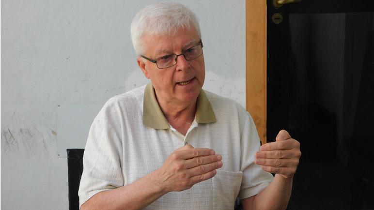 Hugo Racca contó su versión en una rueda de prensa.