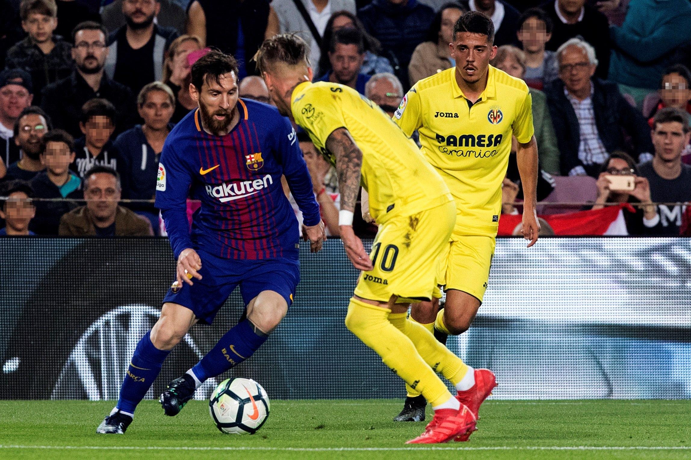 Messi aportó un gol al triunfo del Barcelona (EFE)