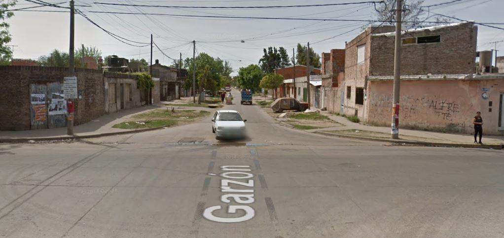 La esquina de Garzón y Génova, en Empalme Graneros.
