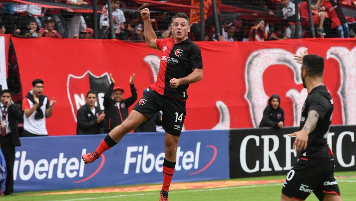 Alexis marcó el único gol del encuentro. (Foto: NOB)