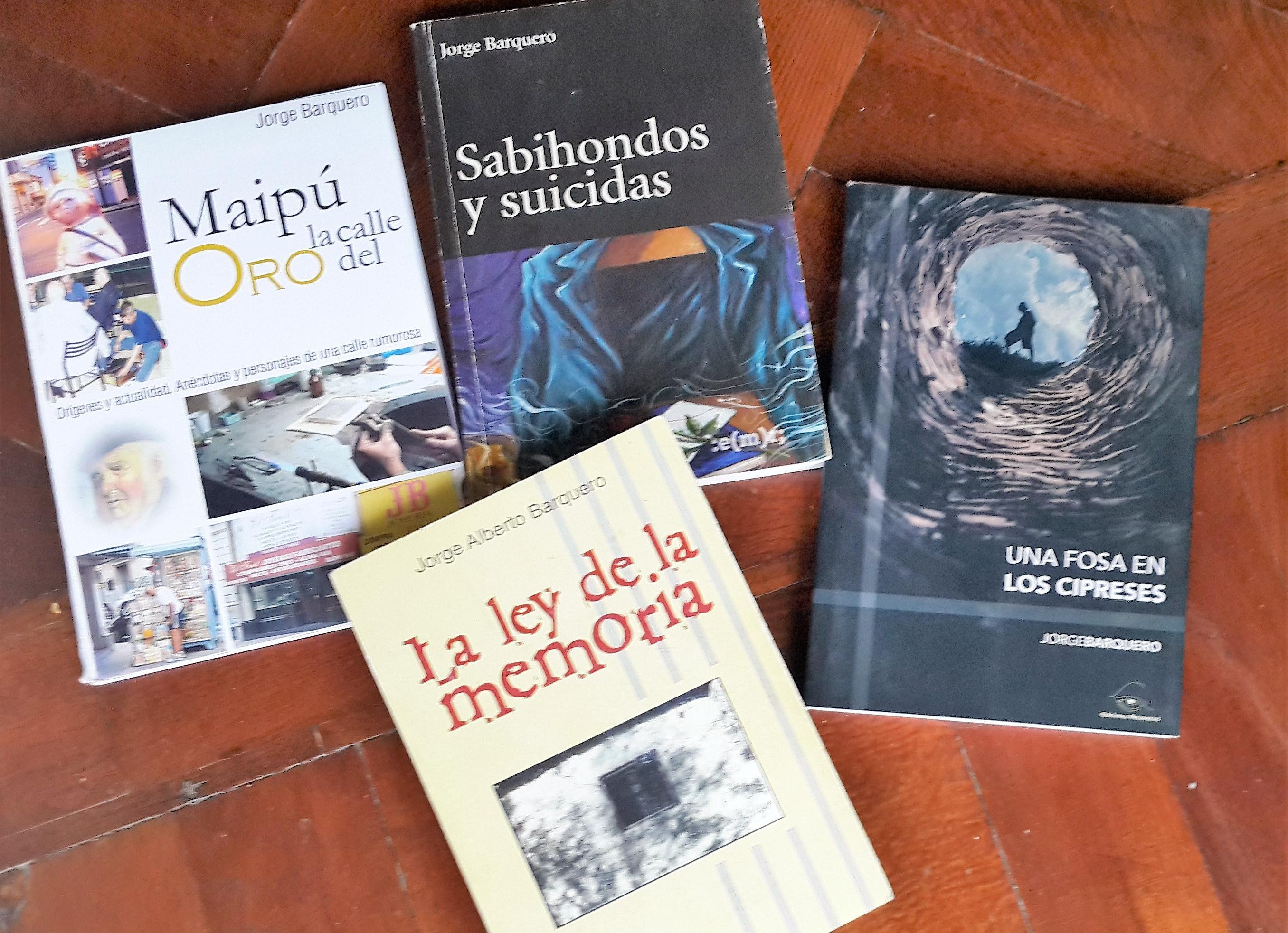 Los libros escritos por el ingenioso Barquero.