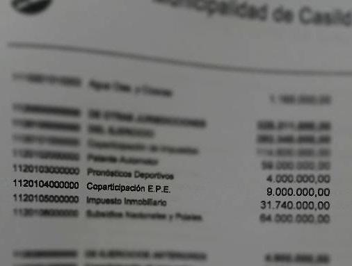 En el último ejercicio la Muni recibió 9 millones.