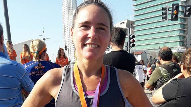 Mientras espera por las pruebas de Ultramaratón, Beltrán compitió en Rosario.