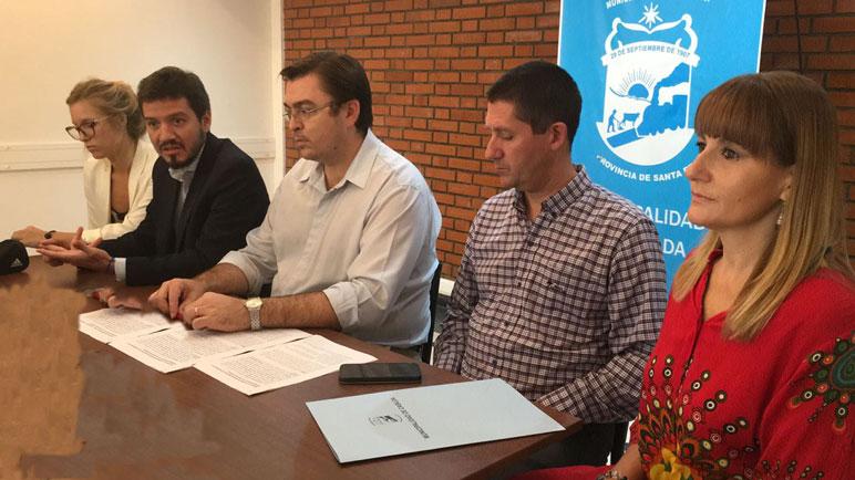 El municipio presentó el futuro CTD que se instalará en la ciudad.