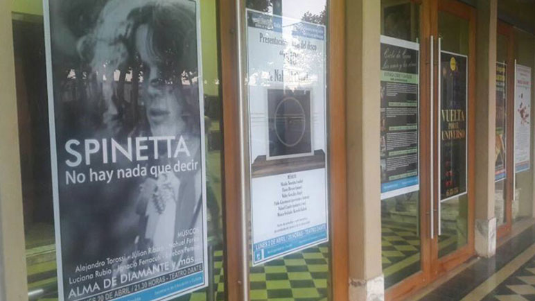 El Teatro Dante le abre las puertas a la música del Flaco Spinetta.