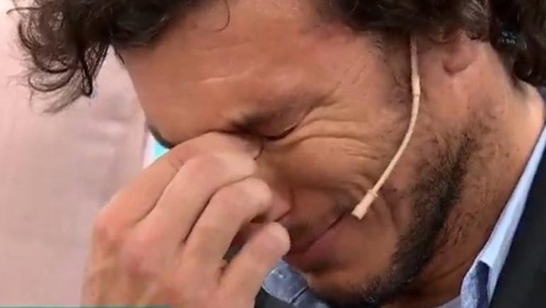 El ex tenista soltó lágrimas en varias ocasiones