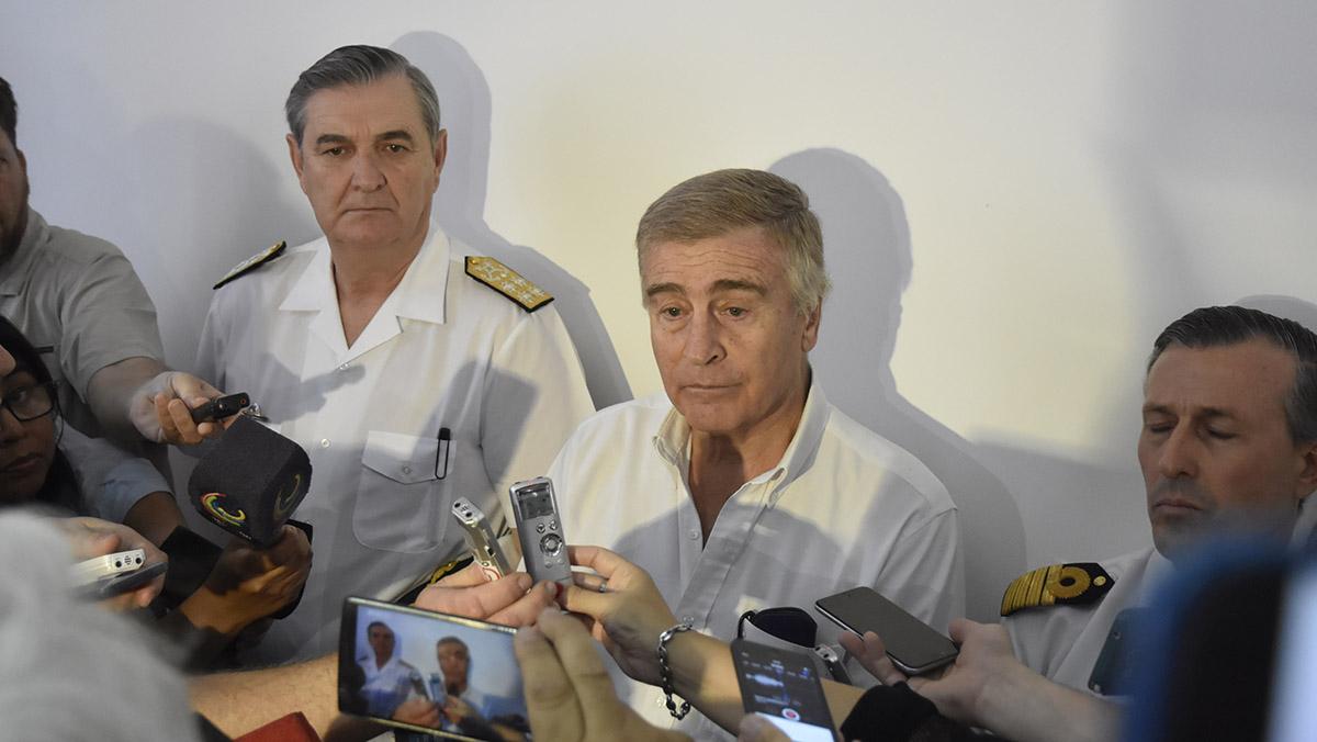 Aguad responderá a las preguntas de la oposición sobre la desaparición del submarino