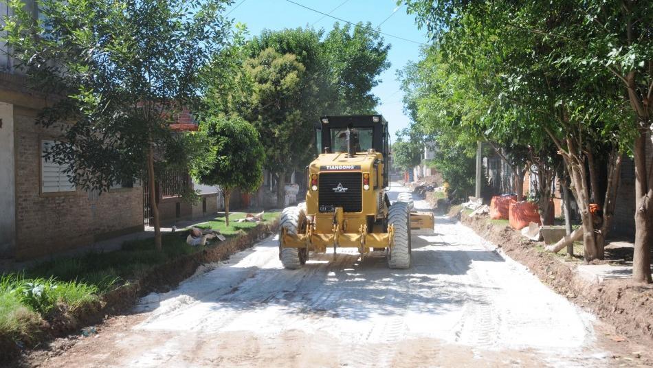 En barrio Alvear piden que se acuerden de sus calles y de sus baches.