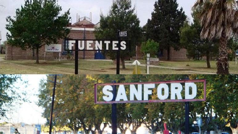Juntos a la par. En esta semana, Fuentes y Sanford cumplieron 130 años.