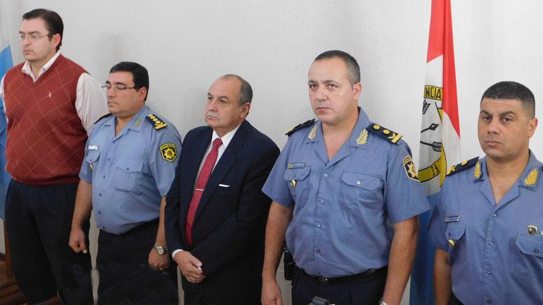 Albornoz asumió como nueve jefe de la URIV de policía.