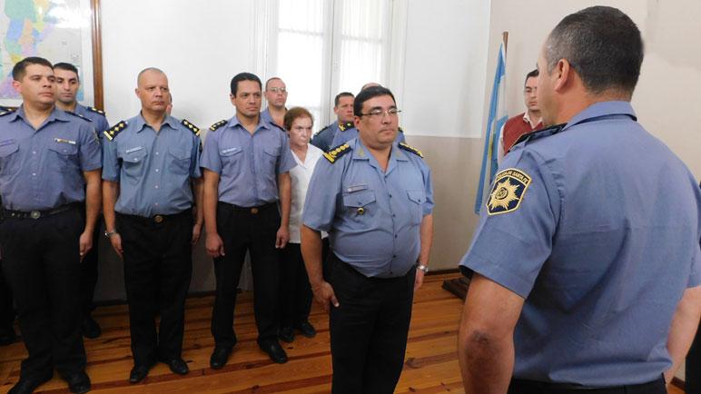 Albornoz asumió hace una semana como nuevo jefe de la URIV de policía.