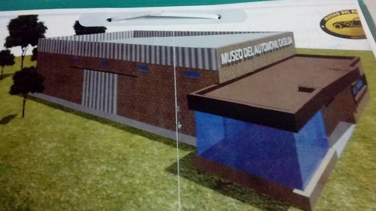 Así será la nueva sede del Museo del Automóvil de Casilda.