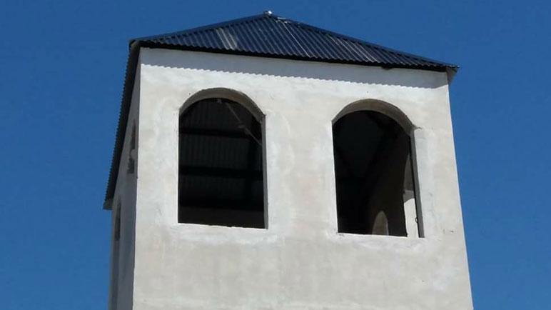 La parroquia Nuestra Señora del Luján pronto tendrán su propio campanario.