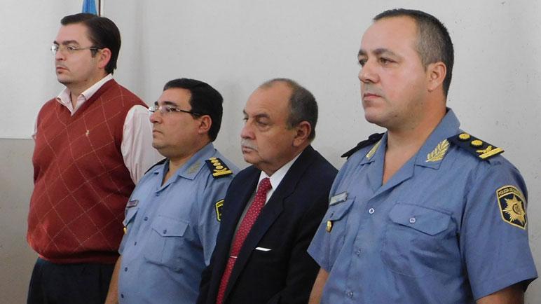 Albornoz asumió en la URIV de policía con el respaldo de Sarasola.