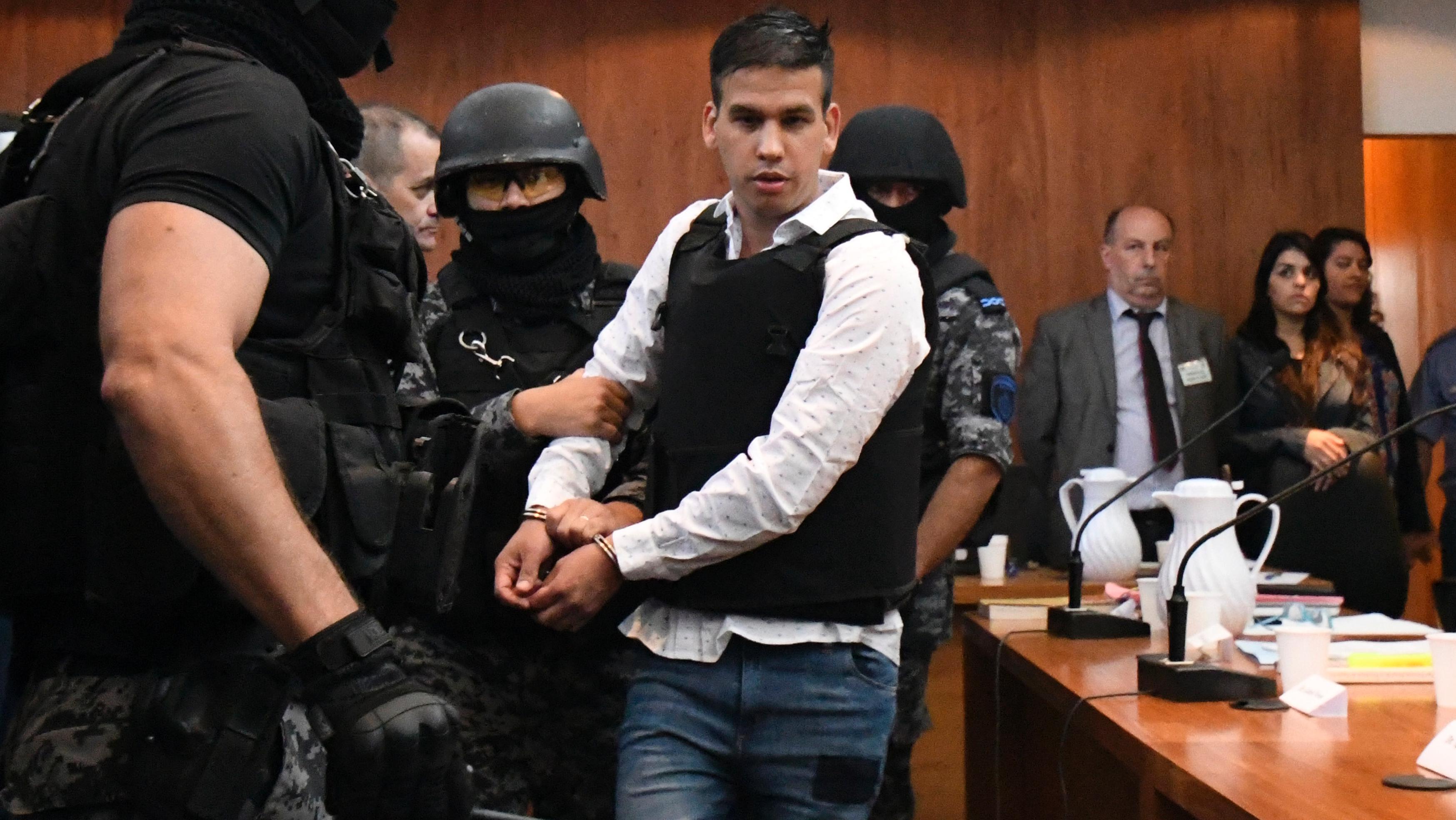 Monchi, señalado como presunto líder de la narcobanda.