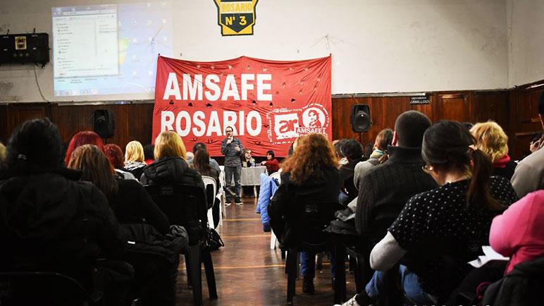 Amsafe Rosario presentó cinco mociones de rechazo
