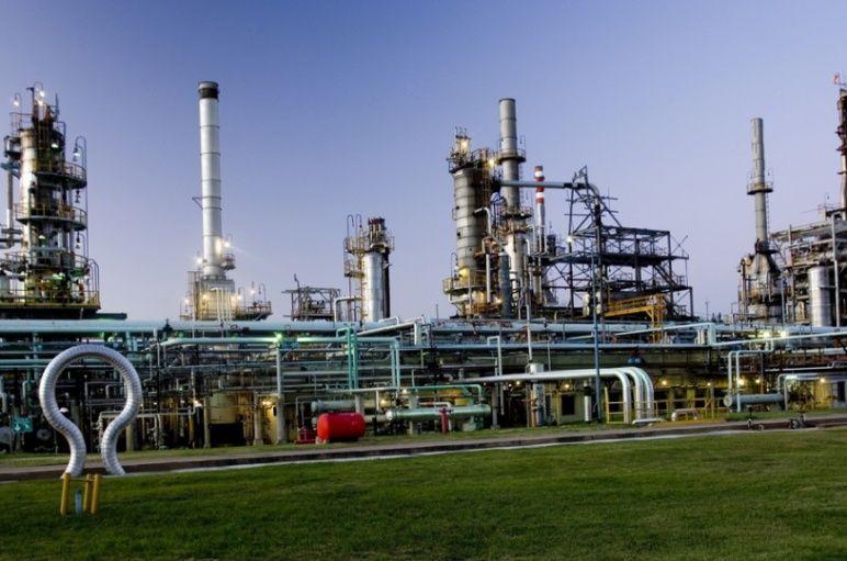 La planta situada en el norte sanlorencino. Trabajaban en ella 400 personas.