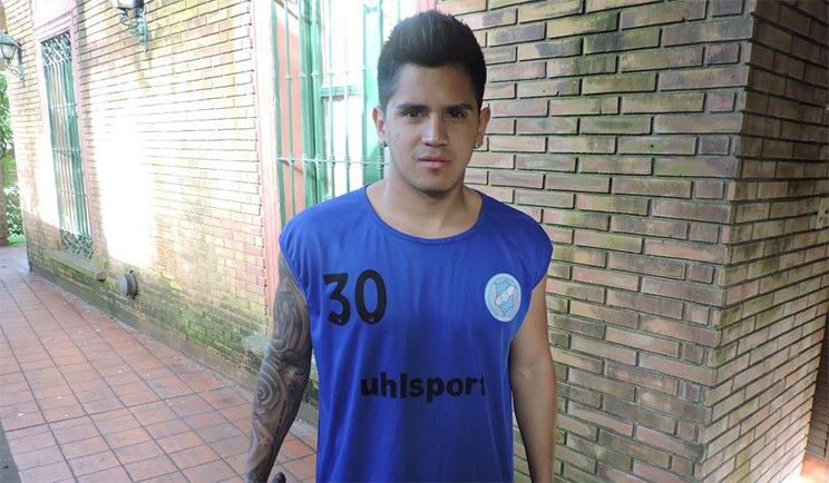 El delantero chabasense lleva cinco goles en la temporada de Primera B
