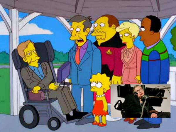 Apareció en Los Simpsons: su teoría del universo ¡era de Homero!