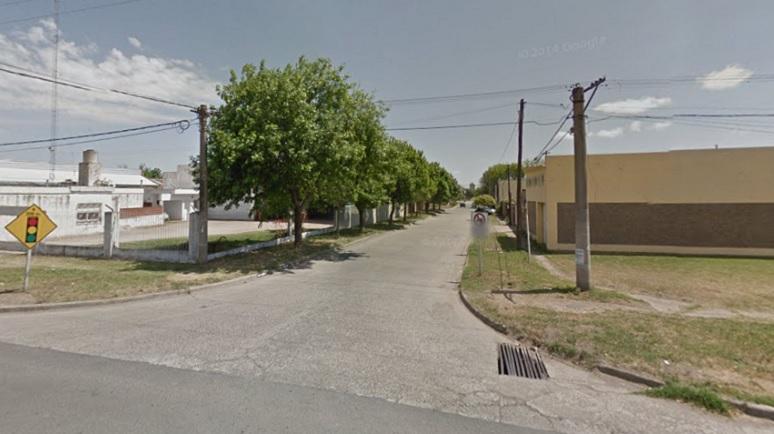 La zona de los reiterados robos. 1º de mayo y la ruta 33.