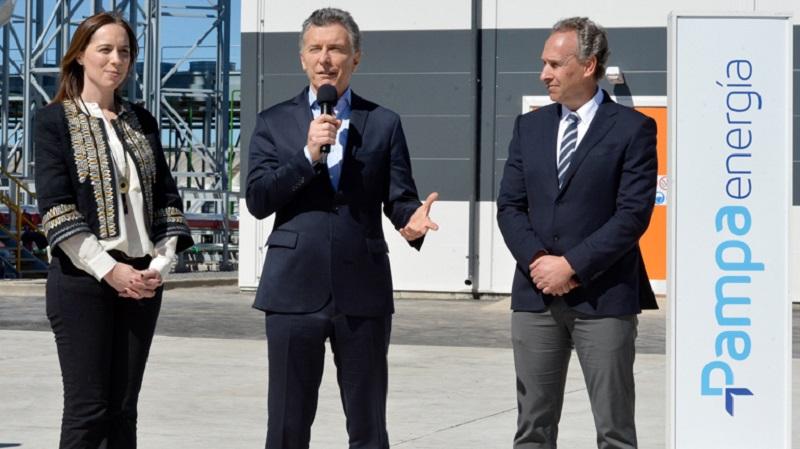 Macri y Vidal con Marcelo Mindlin, dueño de Pampa Energía, otra quesaldría ganando. Amistad y negocios comunes con el presidente.